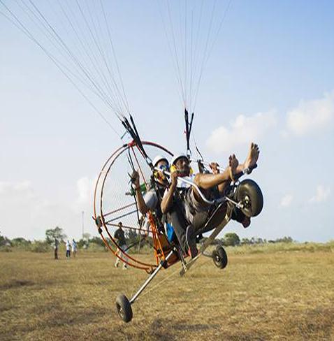 Powered Paragliding Trike Training in India, Chennai, Tamilnadu