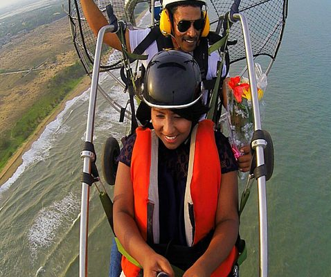 Paragliding training in India